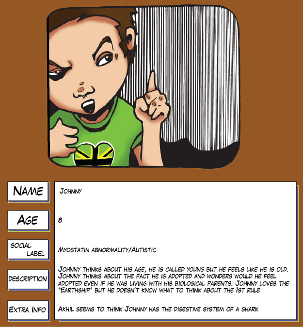 Charactor profiles johnny-01